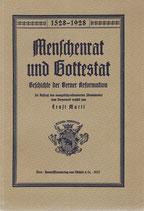 Menschenrat und Gottestat 1927