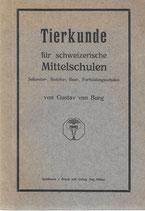 Tierkunde für schweizerische Mittelschulen