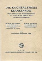Die Kochsalzfreie Krankenkost 1940