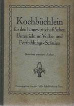 Berner Kochbüchlein 1927
