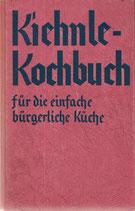 Kiehnle Kochbuch schwäbisches Kochbuch 1950