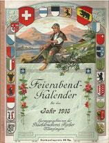 Berner Feierabend-Kalender für das Jahr 1915