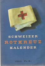 Schweizer Rotkreuz Kalender 1963