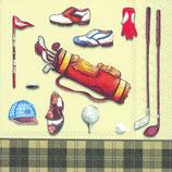 IHR servetten met golfprint