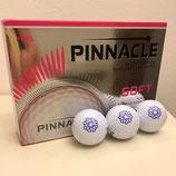 Doos Pinnacle Golfballen , 4x3, bedrukt met Zeeuwse Knop