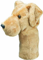 Daphne's headcover Driver Yellow Lab