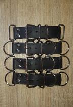 Biothane Adapter kurz 4 fach verstellbar Halsband