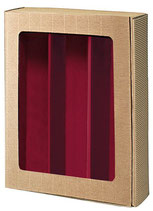 Präsentkarton mit Folienfenster für individuelle Feinkost Geschenke