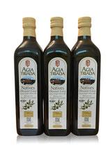 Sparset 3x750ml Flaschen Olivenöl Extra Nativ Kloster Agia Triada -Kreta