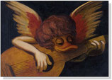 """Angel with a lute"""