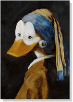 """Duck with a pearl earring"""