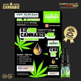 Cannabiz Bio Vollspektrum 5% CBD Öl 5ml.