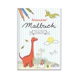 Malbuch Dino