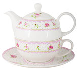 Tea for one Cottage Rose