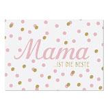 """Karte """"Mama ist die Beste"""""""