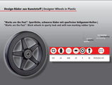 Design - Rad aus Kunststoff