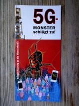 """10 Stück """"Stopp 5G"""" Informationsflyer"""
