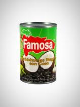 Habichuelas Negras con Leche de Coco en Lata La Famosa