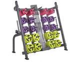 Estanteria Soporte Discos/Barras  Body Pump (30 Juegos Aprox)
