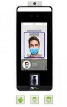 SPEEDFACE-V5L Control de Acceso, Detección Fiebre, Verificacion Facial, Palma de la Mano, Huella Digital