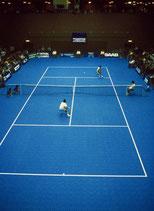 Pavimento Multisport y Bergo Tennis