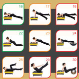 Poster Ejercicios WBV Functional Core Training