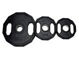 Disco Olímpico de goma 51 mm/ Goma 12 Cantos