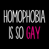 Homophobia is so gay / T-Shirt