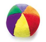 Plüschball mit Squeeker - 14 cm