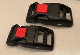 Kunststoff-Klickverschluss mit Sicherung