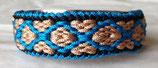 """Armbänder aus Microparacord - """"Raute breit"""""""