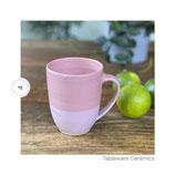 Kaffeebecher 2farbig rosa