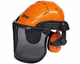 Helmset Advance - mit Metallgitter