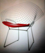 CHAIR   Diamond,1990  designer: Harry Bertoia