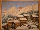 Lötschental; Oel-Bild