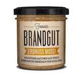 ERDNUSS MUSS – Aufstrich aus gebrannten Erdnüssen, 1 Glas, Füllmenge 160g