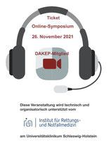"""Ticket """"DAKEP-Online-Symposium für DAKEP-Mitglieder"""