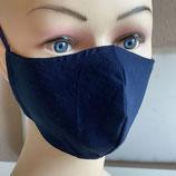 Behelfsmaske FACIE  4 Größen - Purist marineblau