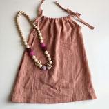 Trägerkleid aus Musselin