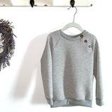 Raglan Pullover mit Knopfleiste