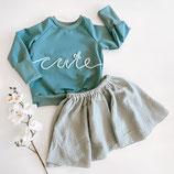 Sweater mit Kordelschrift