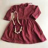 schwingendes Kleid aus Musselin