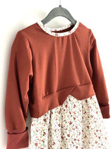 Girly Sweater Tunika Lagenlook Gr 86/92/98