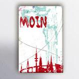Moin-Bild auf Leinwand