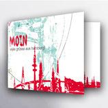 """Karte """"Moin"""""""