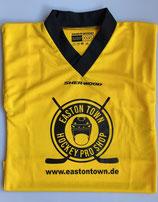 Easton Town Trainingstrikot in den Farben blau, rot, gelb, grün, schwarz und weiß