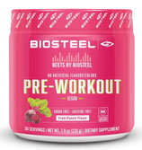 BEETS BY BIOSTEEL PRE-WORKOUT (225g) Fruit Punch