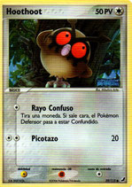 POKEMON CARTA INCOLORO 59/115 HOOTHOOT (HOLO)