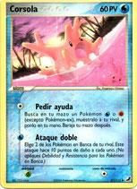POKEMON CARTA AGUA 37/115 CORSOLA