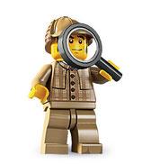 LEGO MINIFIGURA SERIE 5 | 11 SHERLOCK HOLMES